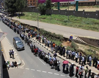 No more long queues at the polling stations! This is the simple method IEBC will use to ease congestion on August 8th