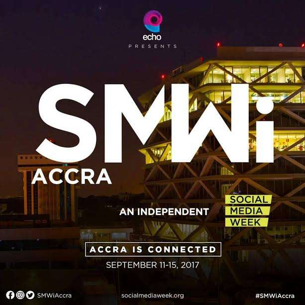 Social Media Week in Accra 11-15th Sept, #SMWiAccra