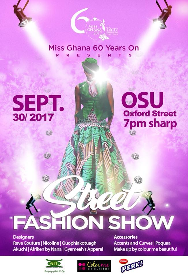 Miss Ghana To Hold Street Fashion Show