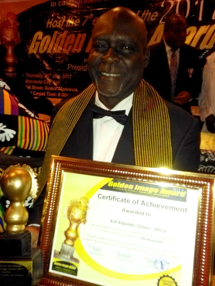 Congratulations! Kofi Adjorlolo Receives International Award