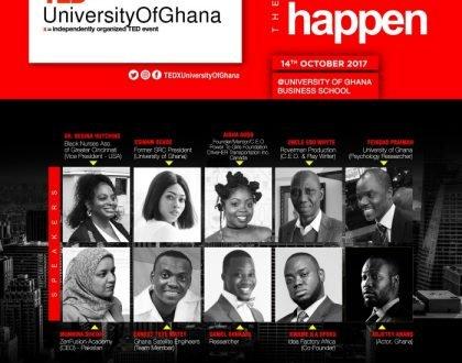 #TEDXUniversityOfGhana Releases List of Speakers