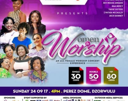 Ntokozo Mbambo, Ohemaa Mercy, Tagoe Sisters and more for 'Women In Worship', September 24