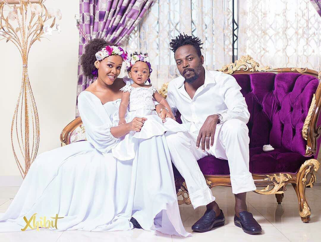 Kwaw Kese Stuns Fans With A Family Picture On Daughter's Birthday(Photos)