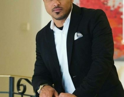 Van Vicker Endorses Free SHS Using Wife's Picture