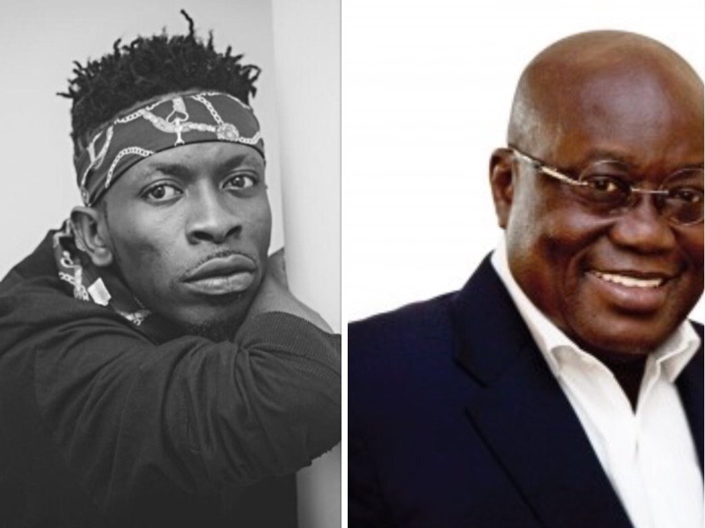 Image result for shatta wale and nana addo