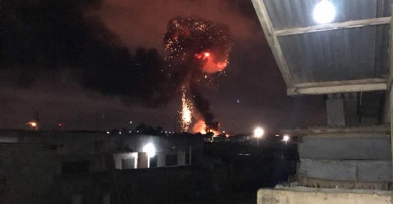 #PrayForGhana: How A Khebab Seller Allegedly Caused Fire Explosion