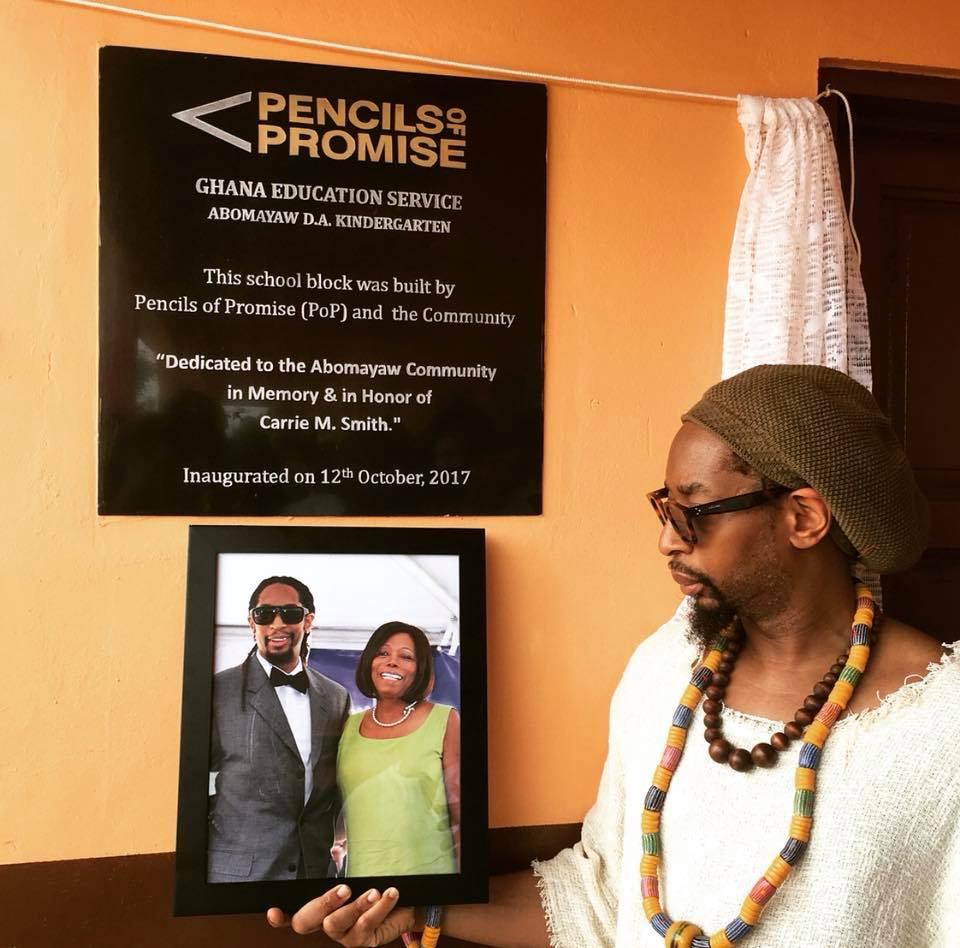 Rapper Lil Jon Builds Classroom Block In Ghana