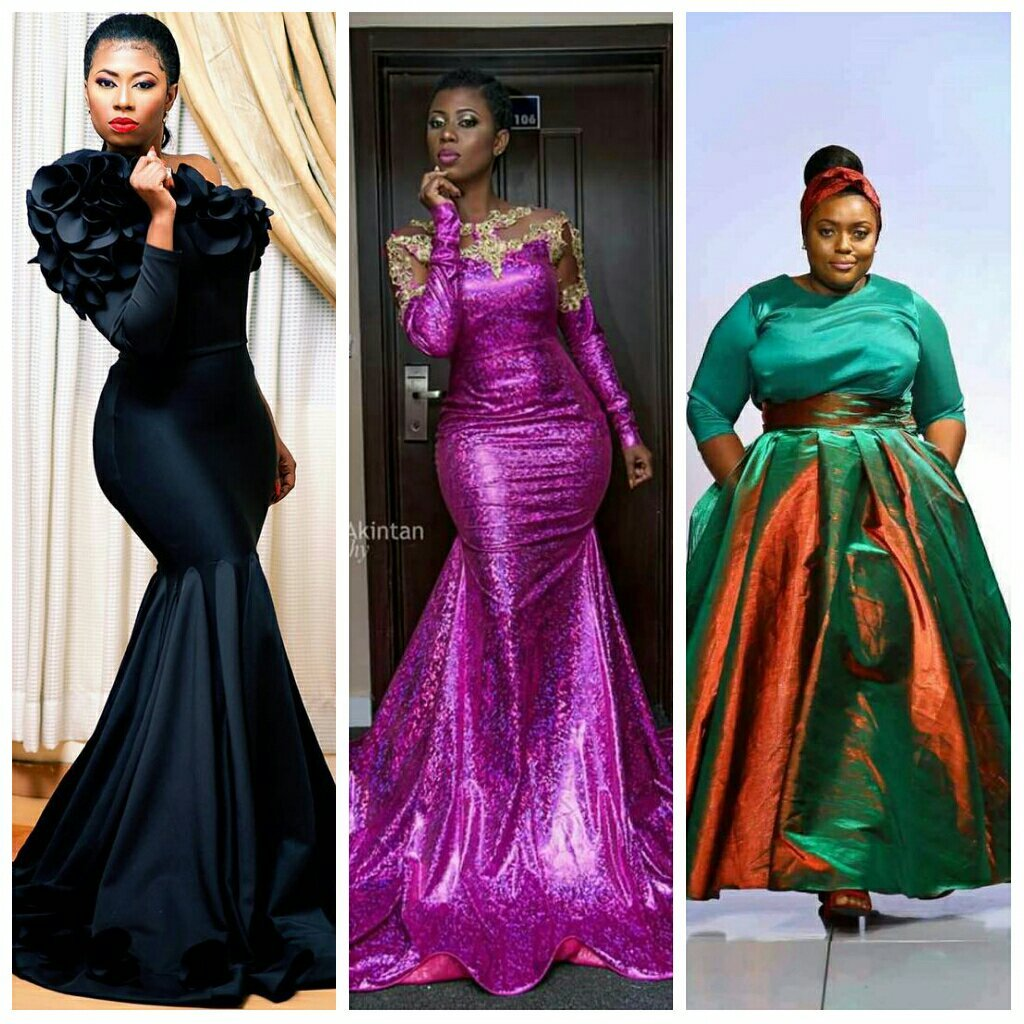 Check Out These Beautiful Gowns Won By Seven Celebrities Every Lady Will Want To Wear On That Special Occasion