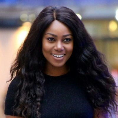 Yvonne Nelson Rocks in  Kente 'Slit And Kaba'( Picture of The Week)