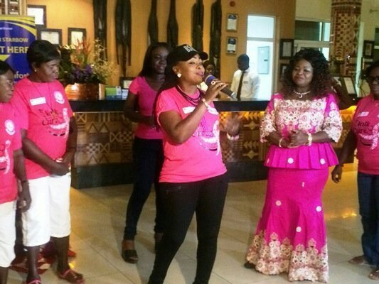Akosua Agyapong Spearheadeds BCI's Cancer Awareness Flash Mob