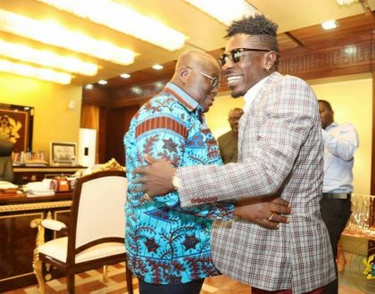 Shatta Wale Finally Meets President Akufo-Addo At Flagstaff House