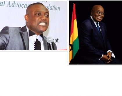 Organize A Party For Them - Lawyer Maurice Ampaw To President Nana Addo