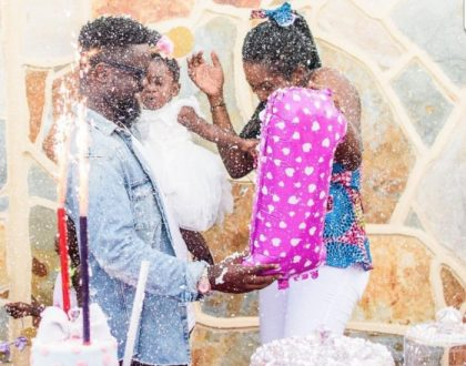 Photos: Heartwarming Pictures Of Sarkodie And Daughter Titi