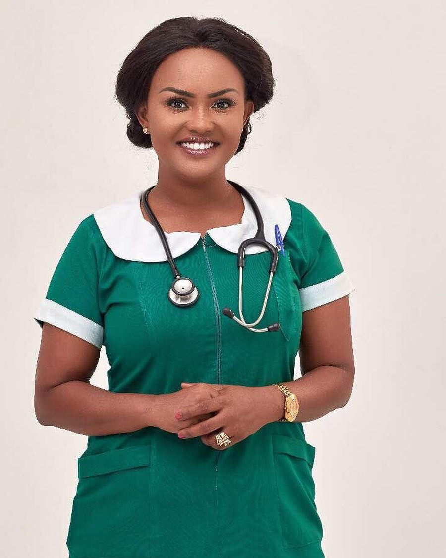 Nana Ama McBrown Studying Nursing?