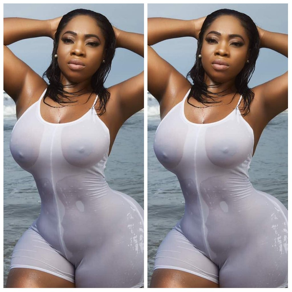 7 Bikini Photos Of Moesha Babiinoti Boduong That Got People Talking(Photos)