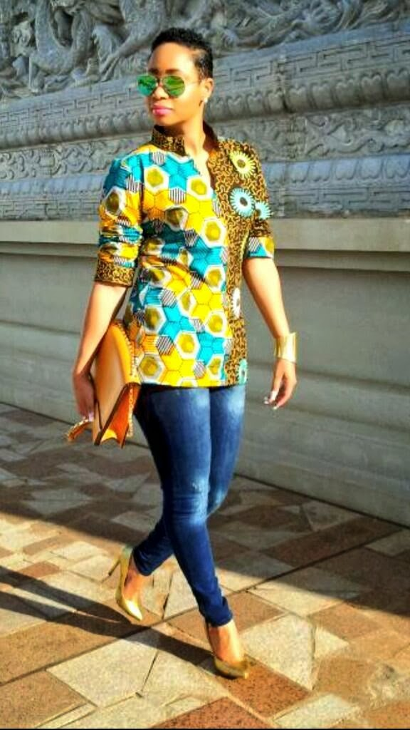 Pokello Wearing The Hell Out Of African Prints