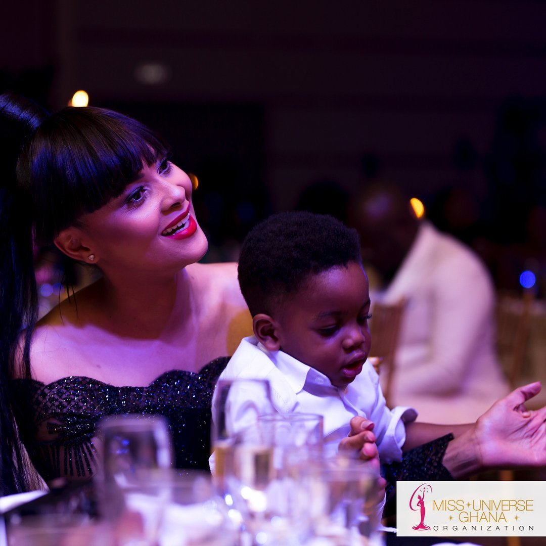 Photos: Five Mother And Son Moments With Menaye Donkor And Son