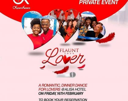 2018 'Flaunt Your Lover' Couples' Night Slated For February,16