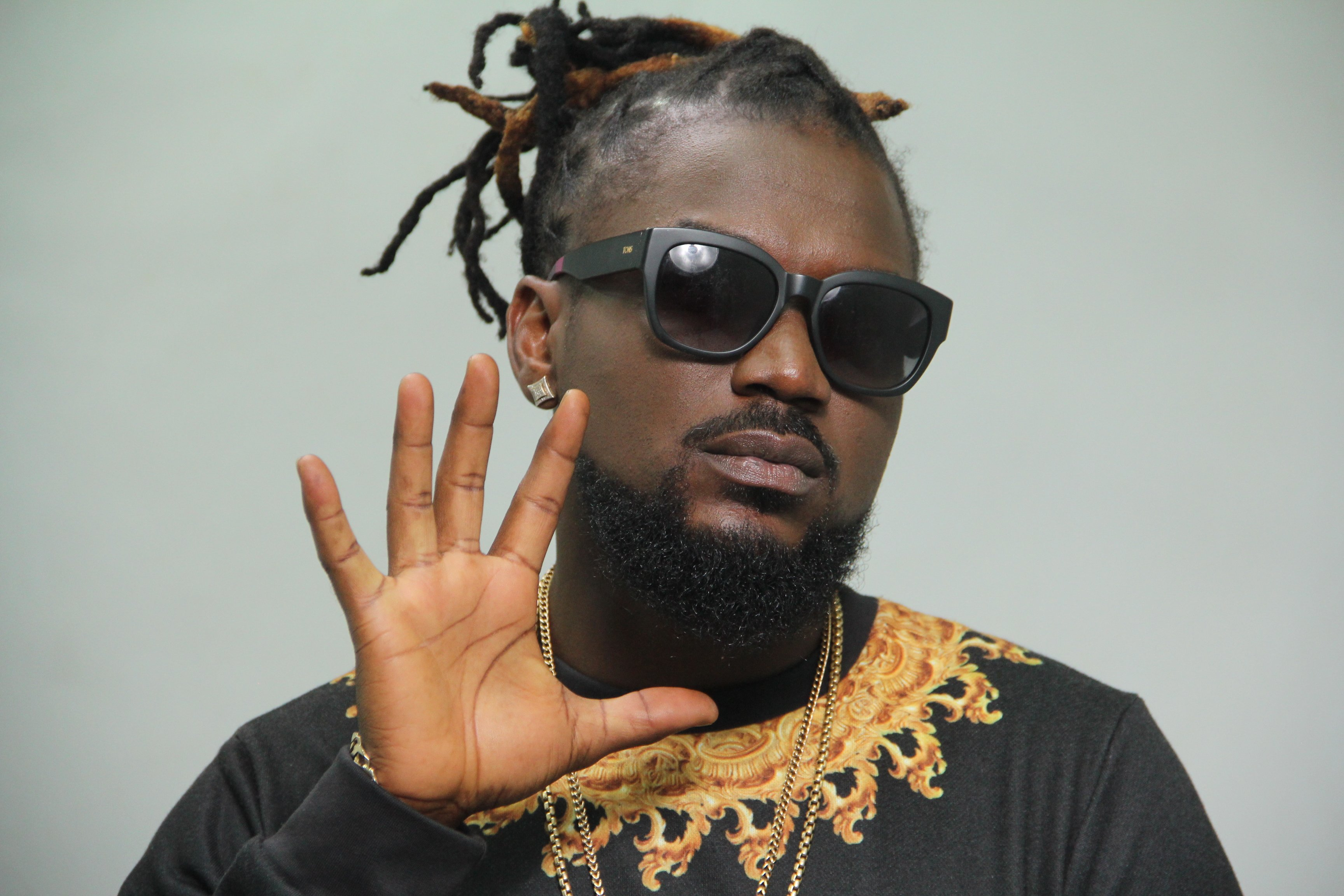 Can We Say Slay? Samini Shows Out In Smock