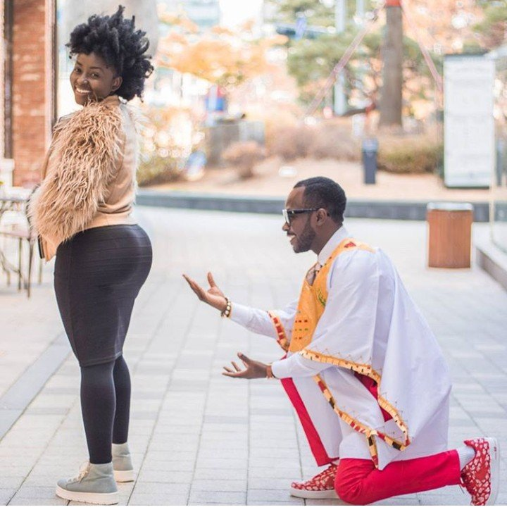 Image result for okyeame kwame wife