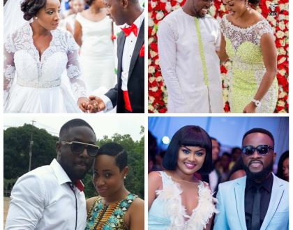 8 Celebrity Married Couples Ghanaians Want To See Still Together At The End Of 2018