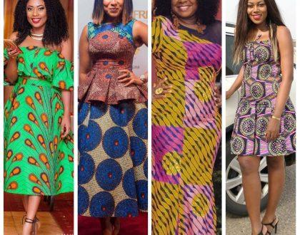 Photos: 7 Celebrities Rocking In Their Ankara African Prints