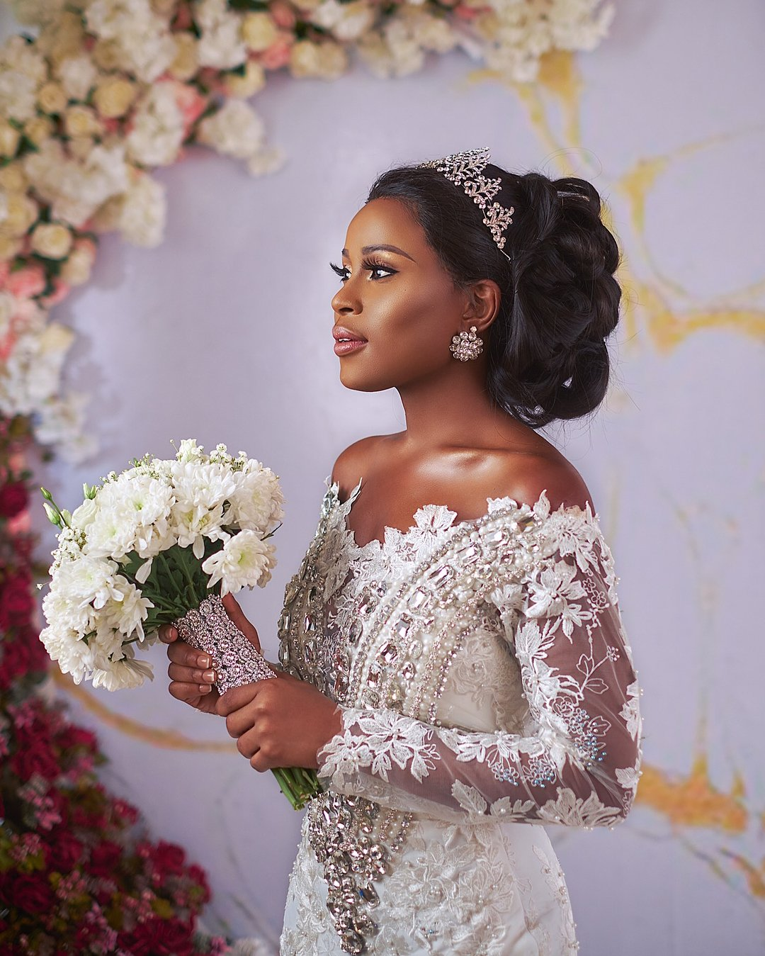 Photos: Berla Mundi Stuns In Sima Brew\'s \'Dream\' Wedding Gown ...
