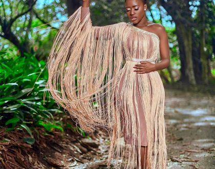 (Photos) Fella Makafui Serves Sexiness In The Wilderness