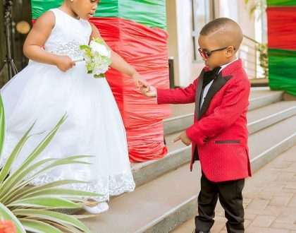 Checkout These Adorable Photos Of Flower Girls And Ring Bearers