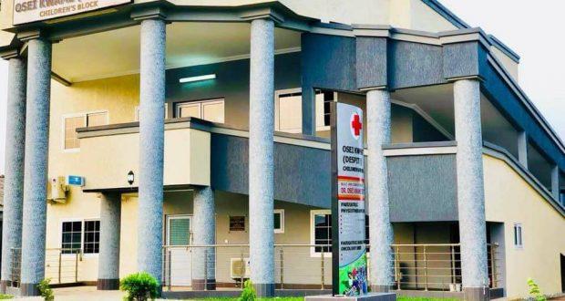 Dr Osei Kwame Despite Builds Children's Block At 37 Military Hospital As Birthday Gift