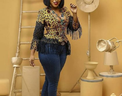 Twelve (12) Sexy Ankara Print Styles  For Your Friday