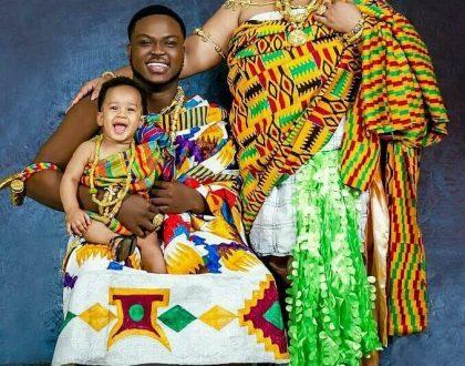(Photos)Kumawood Actress Celebrates Son's 1st Birthday The Ghanaian Way