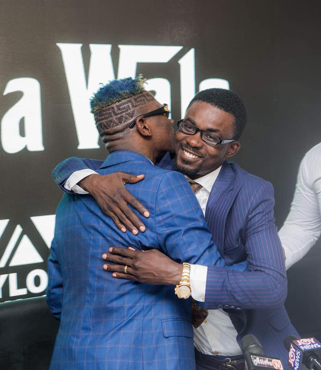 Exclusive Photos From Shatta Wale's Signing Into The Zylofon Family