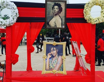 Photos: From Celebrities To Crowd At Ebony's One-Week Memorial Service