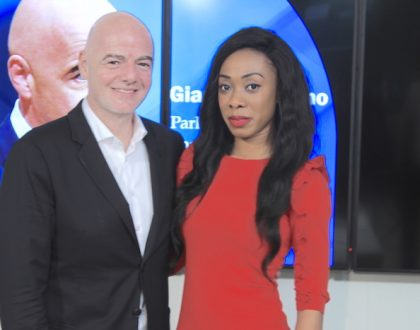 Juliet Bawuah interviews FIFA President Gianni Infantino