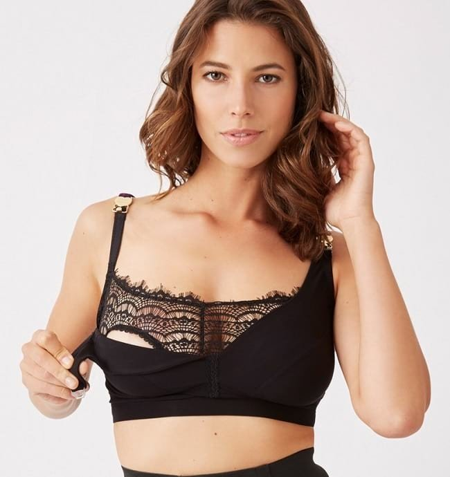 1b6ab2f85b892 These are specially designed for mothers who are in the nursing phase. The  cups of this bra are covered with flaps of fabrics that can be unclasped  from the ...