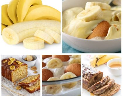4 Delicious And Quick-To Prepare Banana Recipes