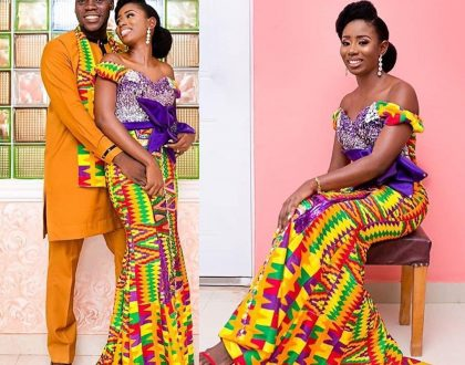 Photos: Checkout These Colorful Kente Weddings For The 'Wear Ghana Month'