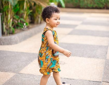 (Photos)Checkout How Our Little Instagram Princess, BabyLorde Is Nailing The Wear Ghana Month