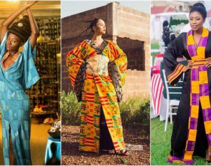 Selly Galley, Deborah Vanessa And Hamamat Montia Rocking In Kimonos