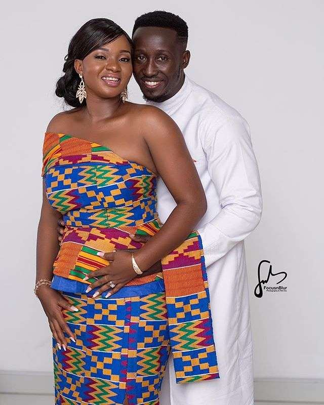 (Photos) Nana Ama's Stylist, WardrobeYak Gets Married