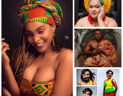 Photos: Checkout How Some Ghanaian Celebrities Celebrated Ghana's 61st Independence Day Anniversary