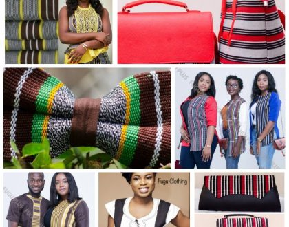 Photos: Checkeout These Amazing Products Made With Ghanaian 'Fugu' Cloth