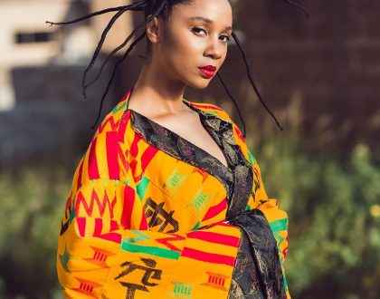 Photos: Sister Deborah Stuns In These Kente Kimono Clothes