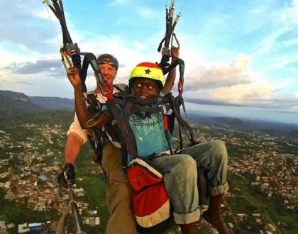13th Annual Paragliding Festival Ends In Kwahu