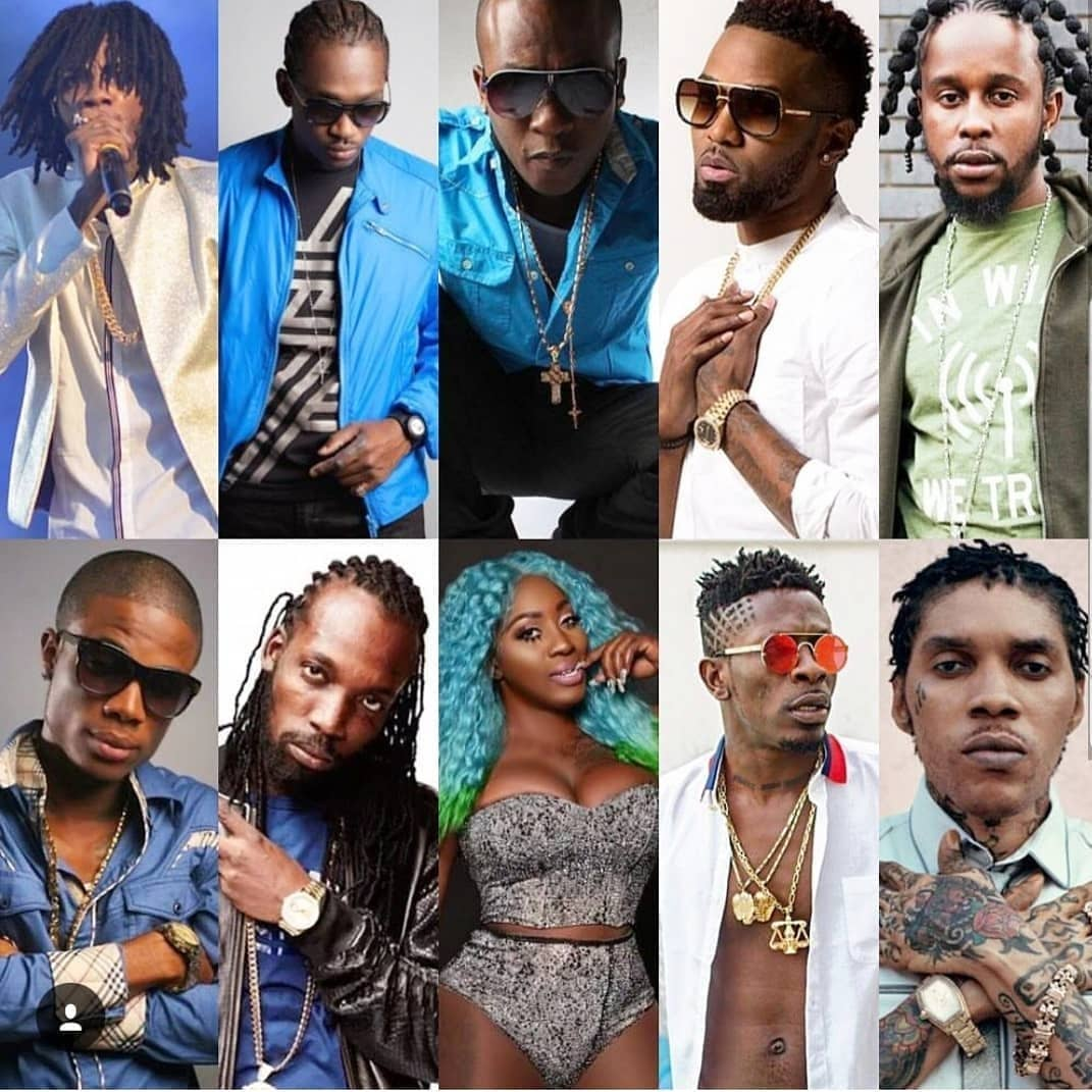 Shatta Wale Ranked Among Global Top 10 Dancehall Artistes In