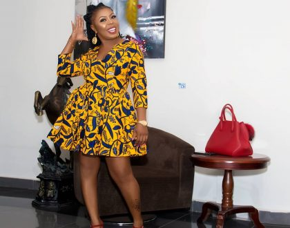 Photos: Times Afia Schwarzenegger Dazzled In African Prints