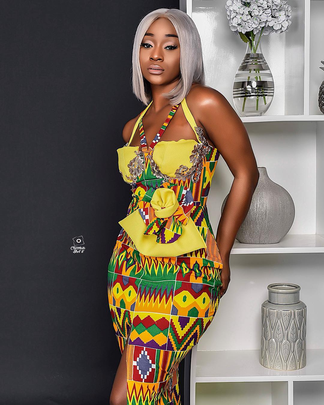 Photos: 9 Times Efia Odo Stunned In African Prints