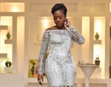 Fella Makafui Glows In Latest Photos As She's Adjudged Best Actress Of The Year