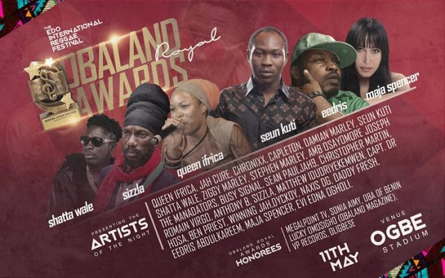 Shatta Wale, Damian Marley, Sean Paul, Others To Be Honored In Nigeria
